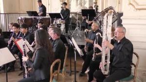 Marche française de SAINT-SAËNS par le Choeur de clarinettes de Versailles (dir. Philippe Cuper)