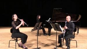 Felix Mendelssohn: Konzertstück n°1 op. 113 by Christelle Pochet and & Bruno Martinez