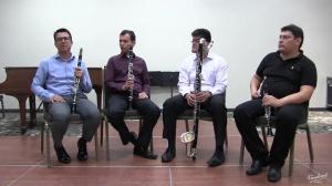 Cuarteto de Clarinetes de Bogotá-Live recording ICA 2017-Orlando, Florida, U.S.A. (English language)