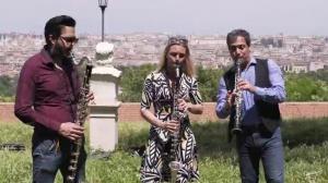 Alessandro Carbonare Clarinet Trio - Corea Suite - Spain -
