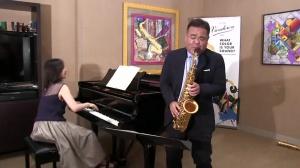 私たちは日本のサクソフォン奏者の大城正司さんを迎えることが出来、誇りに思います。
