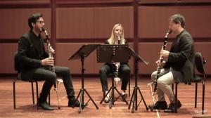 Alessandro Carbonare Clarinet Trio - Non più andrai farfallone amoroso -