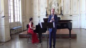 Philippe Cuper joue la Fantaisie d'Alexis Ciesla
