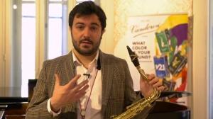 Pedro Pablo Camara - El saxofón es la herramienta para cantar -