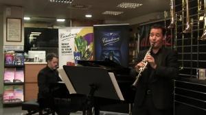David Bravo Plays Solo de concurso from Miguel Yuste