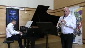 Sonata pour clarinette en Sib et piano (1953) de Robert Stevenson (1916-2012)