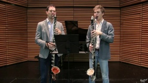 Vincent Penot and Victor Guémy: Sonata for 2 bassoons by Francisco Mignone - Allegro -