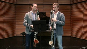 Vincent Penot and Victor Guémy: Sonata for 2 bassoons by Francisco Mignone - Modinha -