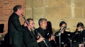 Philippe CUPER et le Choeur de clarinettes de Versailles : Travelling de Robert Truillard