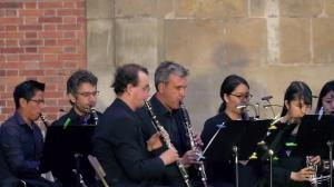 Philippe CUPER et le Choeur de clarinettes de Versailles : Final du Sextuor de Beethoven