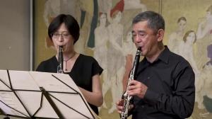 Akira NISHIMURA (1953 - ) : Jyurei I pour deux clarinettes en si bémol (2014)