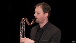 Vincent Penot : Concerto d'André Jolivet, retranscrit à la clarinette basse. 2ème mouvement