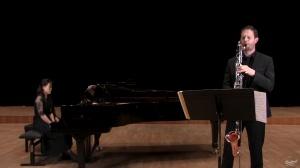 Vincent Penot : Concerto d'André Jolivet, retranscrit à la clarinette basse. 1er mouvement